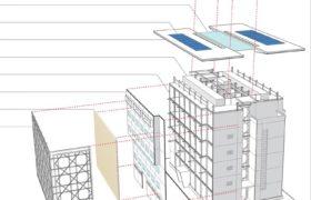 2_Multi-level modular system with ventilated façade