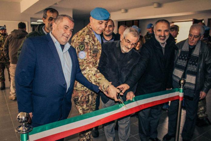 LIBANO. PROGETTI CIMIC 2018 A Bint Jbeil