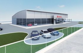 1_Project for the construction of the new Toyota dealer